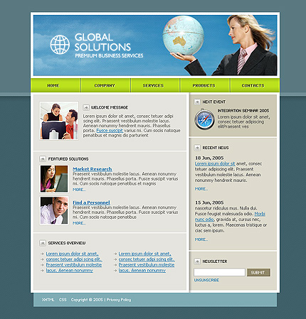 Download Free CSS Template