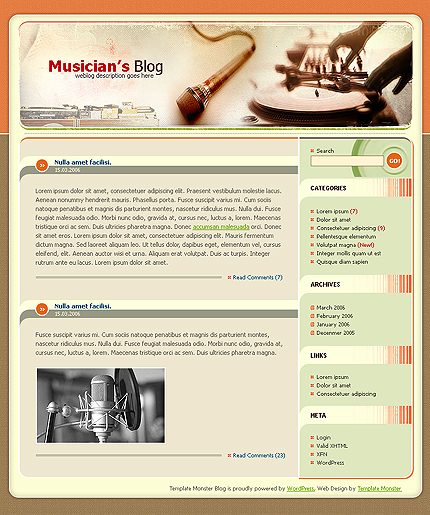 WordPress Theme > TemplateKnowledgeBase.com